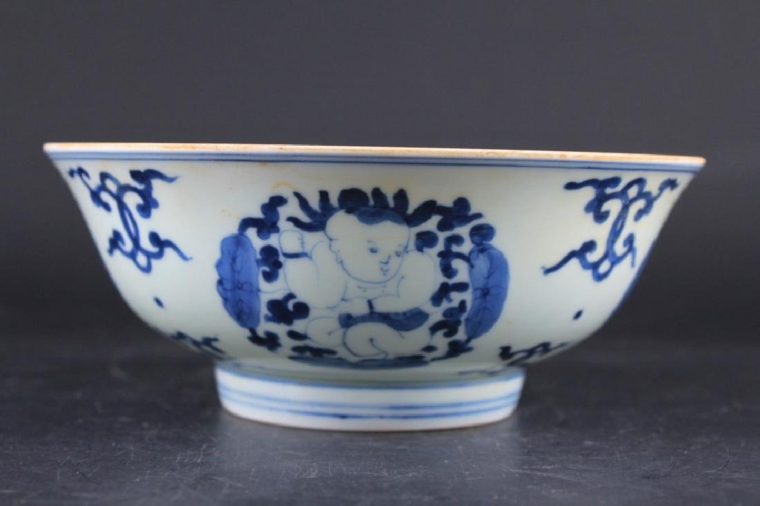 Chinese Ming Porcelain Blue&White Bowl - 3