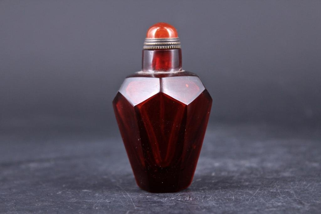 Qing Peking Glass Snuff Bottle