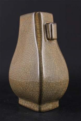 Chinese Song Porcelain GeYao Vase