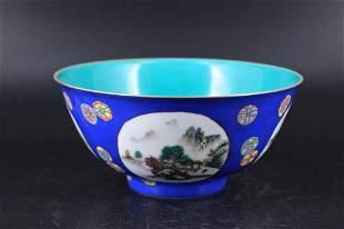 Qing Porcelain Famille Rose Bowl