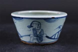 Qing Porcelain Blue&White Bowl