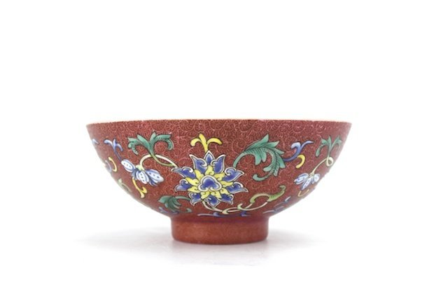"CHINESE CERAMIC ""FENG CAI"" BOWL"