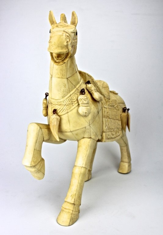 Chinese Hand carved Horse