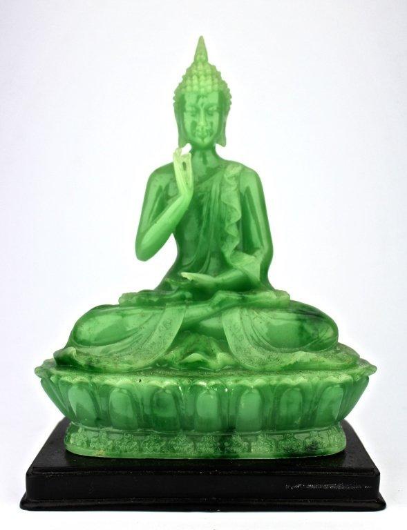 Chinese Green Jade Guan Yin
