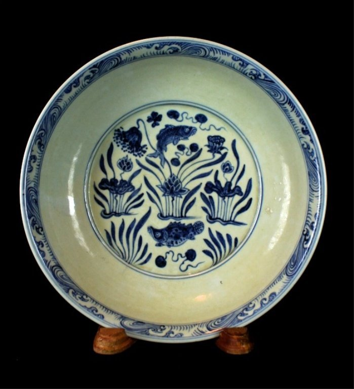 Chinese Blue&White Porcelain Plate