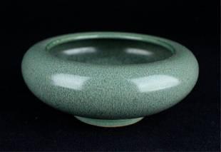 Chinese Qing Porcelain Brush Pot