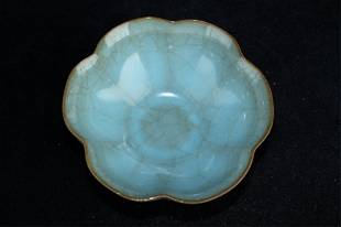 Chinese Song Porelain Crackle GuanYao Bowl