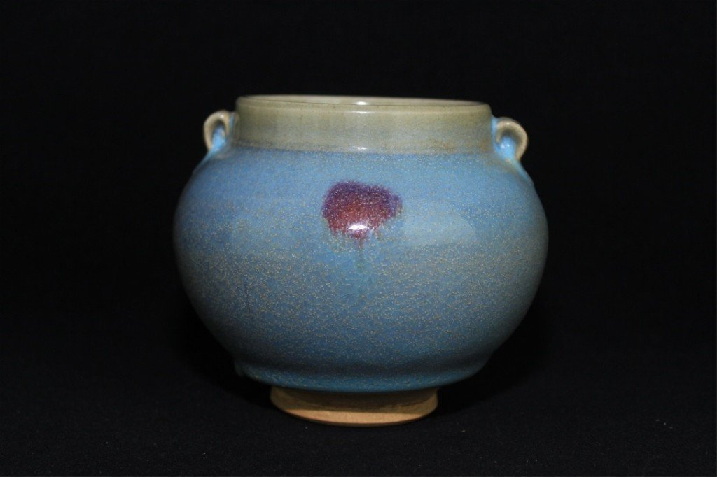 Chinese Song Porcelain JunYao Jar