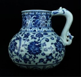 Chinese Ming Porcelain Blue&white Pot