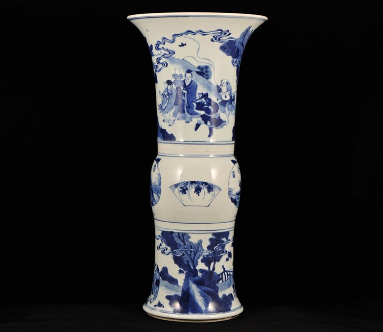 Kangxi Period Chinese Gu Vase