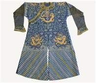 Late Qing Chinese Summer Dragon Robe, Jifu