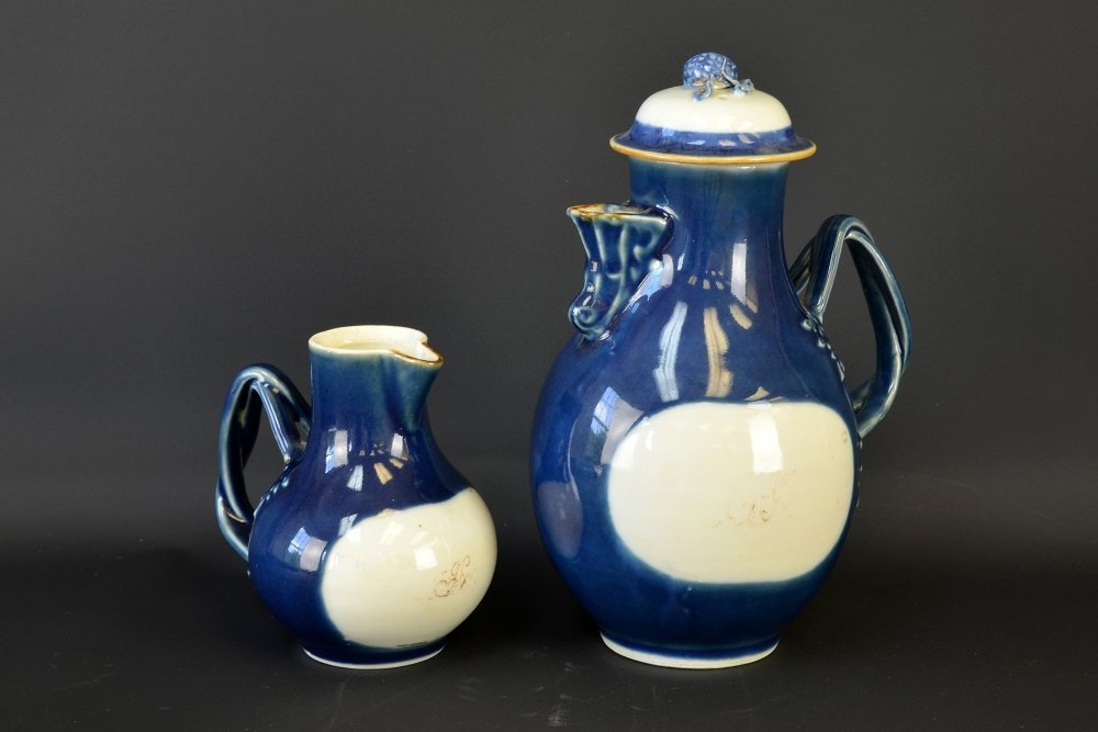 18th Century Chinese Export Porcelain Cream Jugs