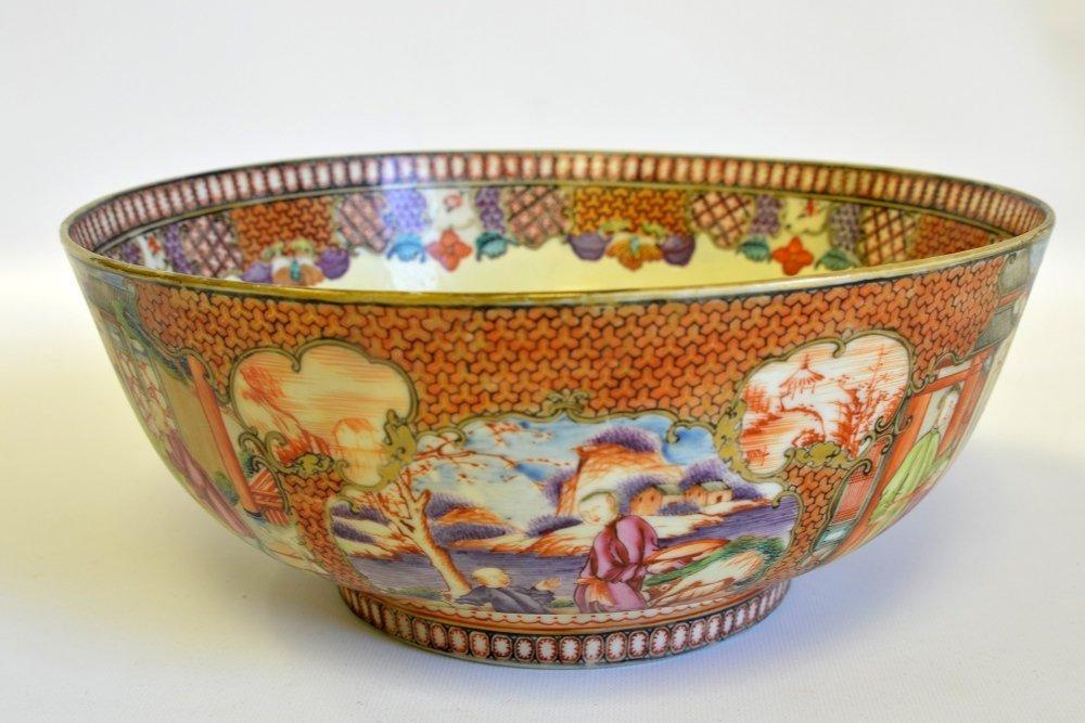 Chinese Export Satsuma Type Porcelain Bowl