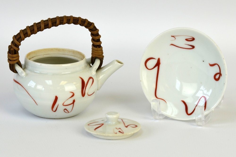 Japanese Iron and Ceramic Teapots - 2