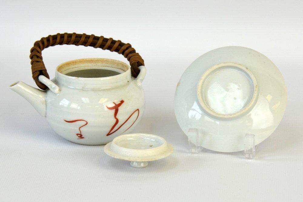 Japanese Iron and Ceramic Teapots - 3