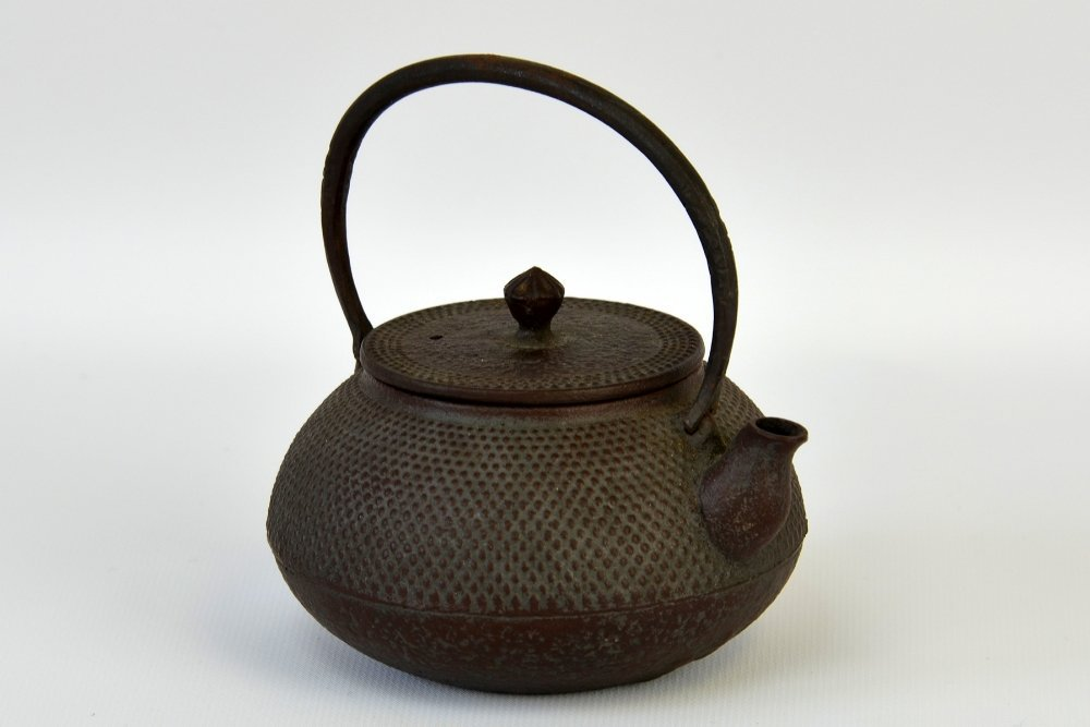 Japanese Iron and Ceramic Teapots - 4