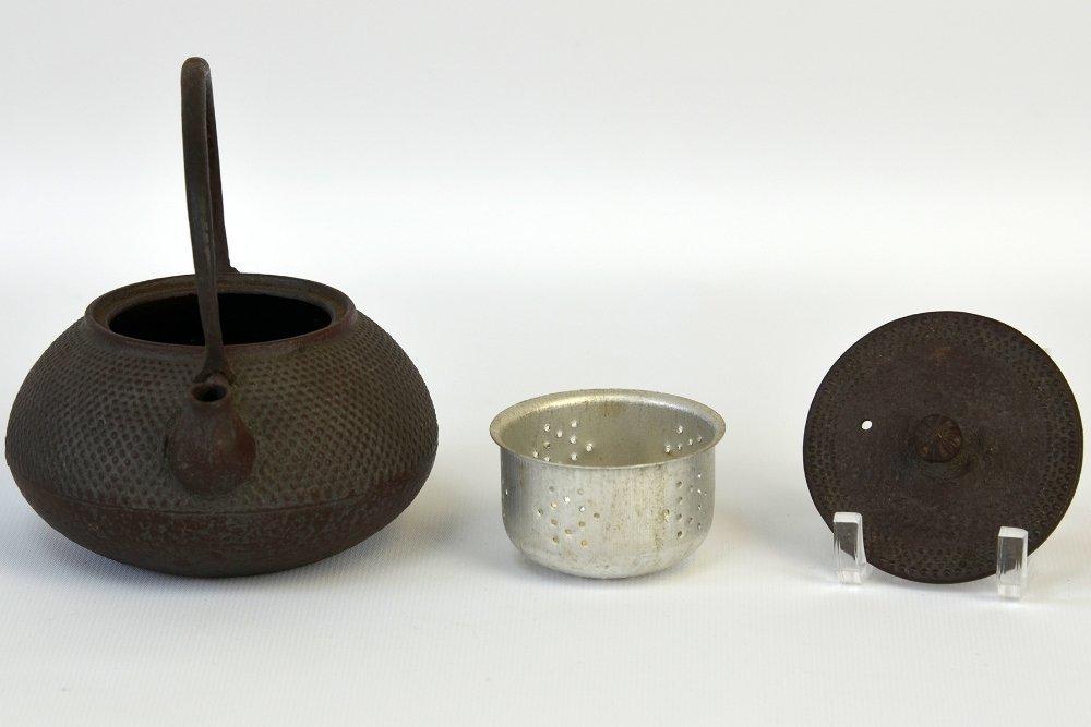 Japanese Iron and Ceramic Teapots - 5