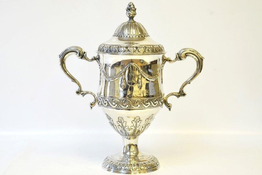 A Matthew West Sterling Silver Trophy Urn