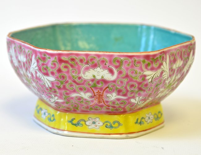 A Republic Period Chinese Famille Rose Bowl