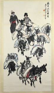 Huang Zhou (1925-1977), Painting for a Large Hall