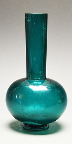 A Green Peking Glass Vase, 19th Century