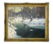 George Ames Aldrich, Landscape, Juday Creek