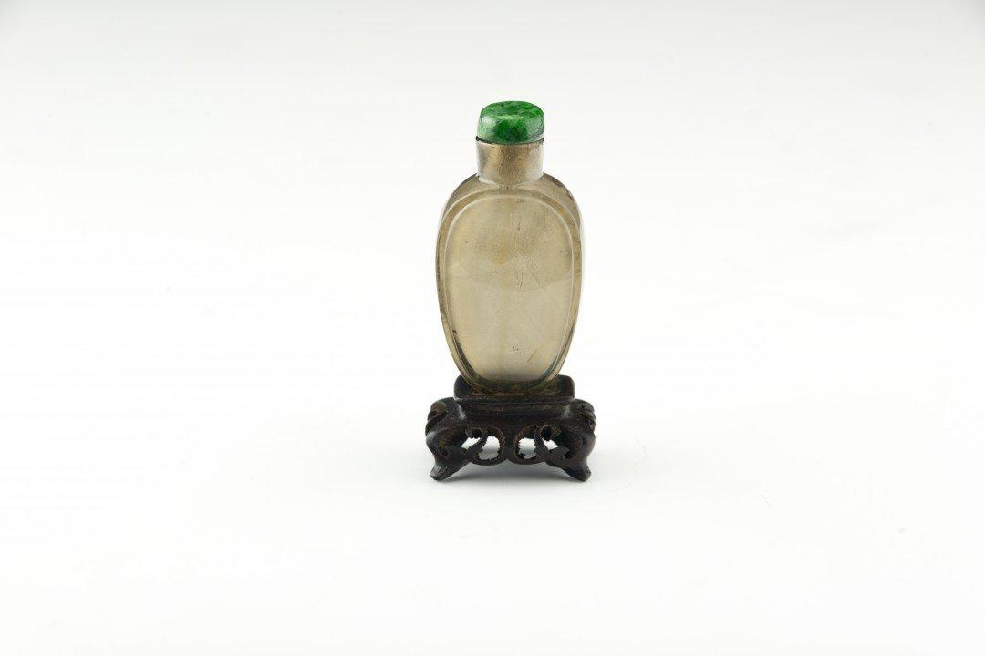 A Smokey Quartz Crystal Snuff Bottle