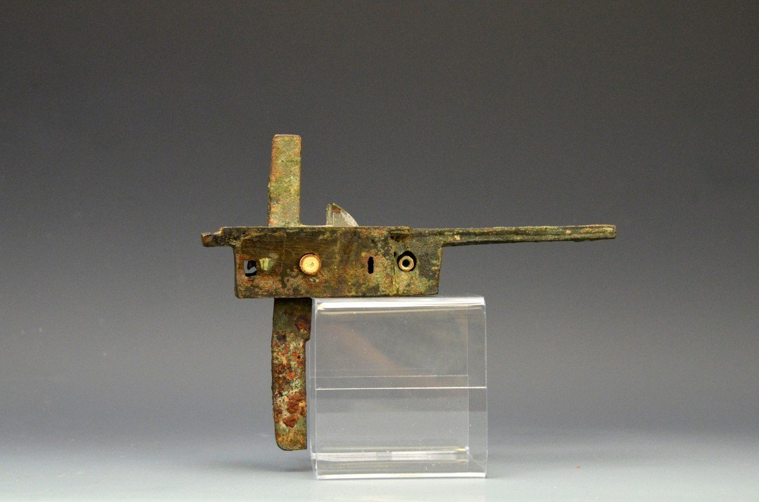 A Chinese Bronze Crossbow Trigger, Han Dynasty - 2