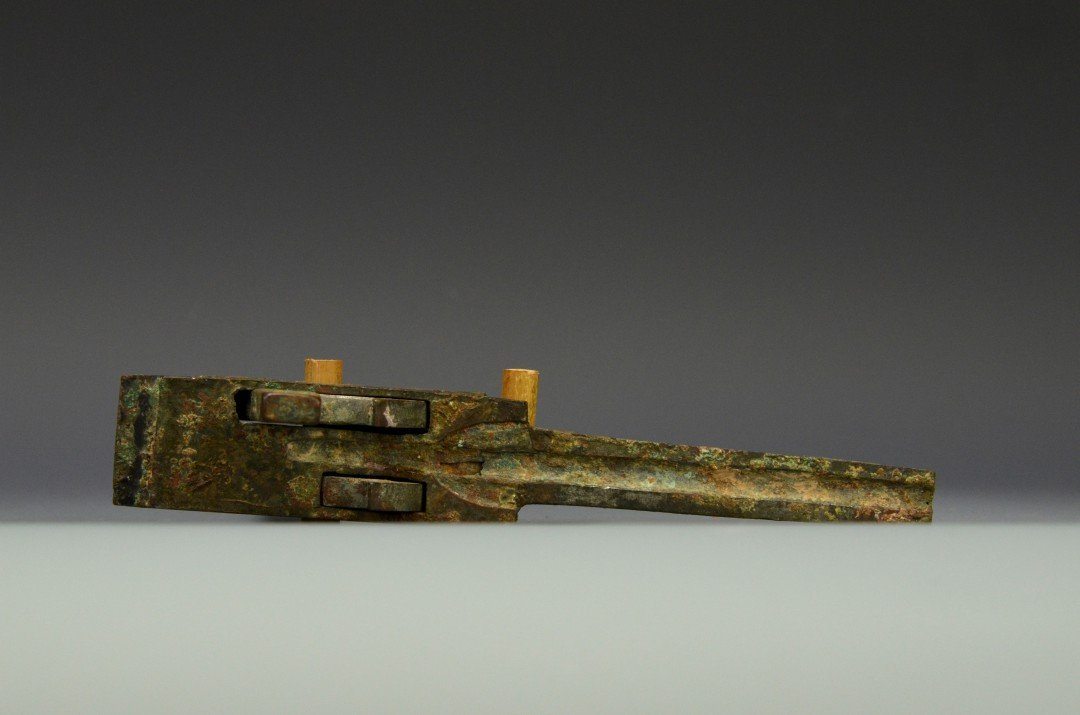 A Chinese Bronze Crossbow Trigger, Han Dynasty - 3
