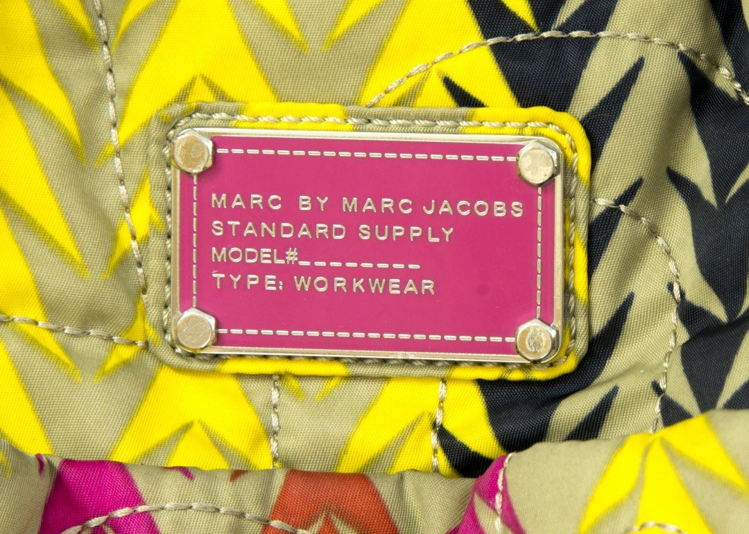 A Multi-Colored Marc Jacobs Diaper/Overnight Bag - 3
