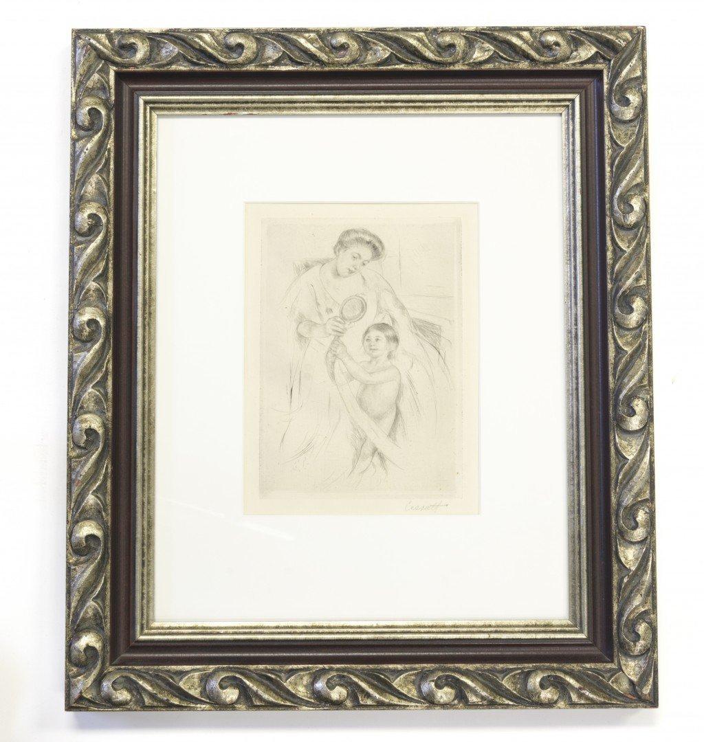 Mary Cassatt (American, 1844-1926) Etching