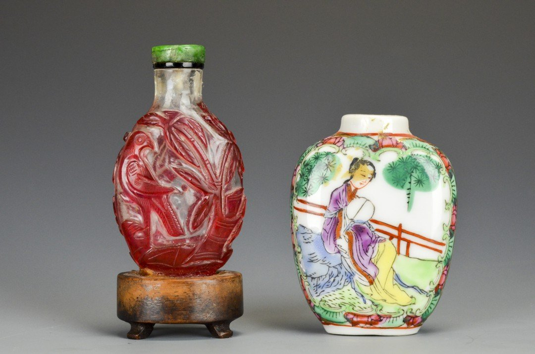 A Pair of Chinese Snuff Bottles