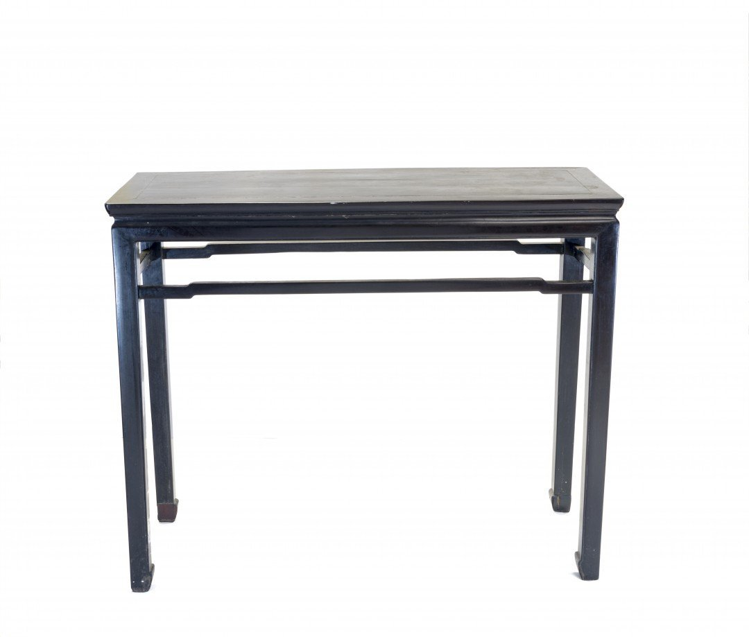 A Tall Ming Dynasty Style Zitan Table