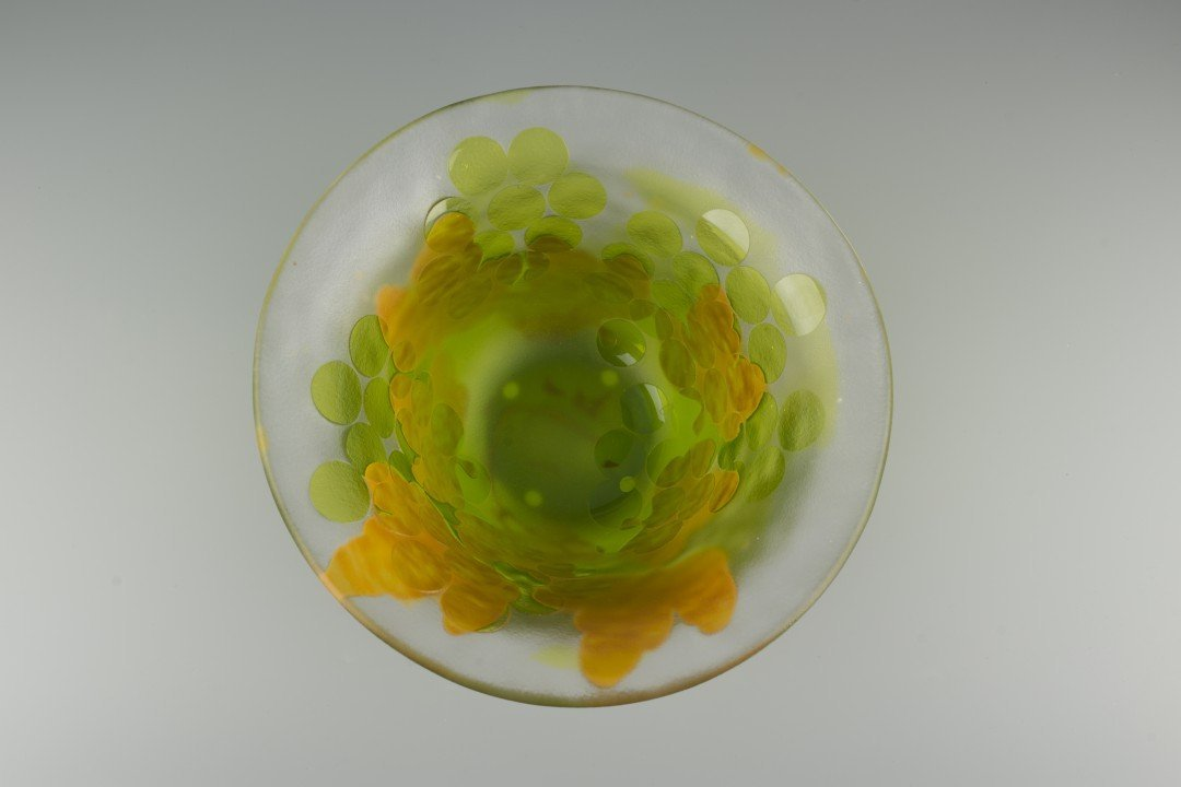 A Kosta Boda Cameo Glass Bowl, Paul Hoff - 5