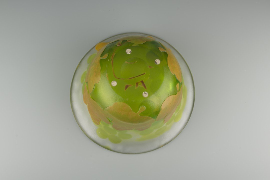 A Kosta Boda Cameo Glass Bowl, Paul Hoff - 6