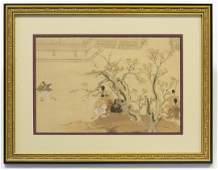 After Suzuki Harunobu (1724-1770), Woodblock Print