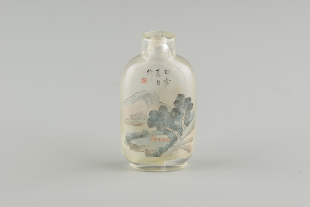 A Chinese Interior Painted Glass Snuff Bottle