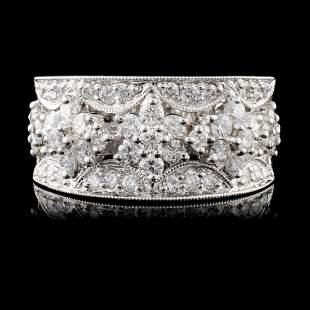 18K White Gold 130ct Diamond Ring