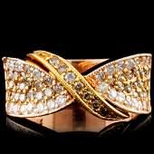 14K Gold 089ctw Diamond Ring
