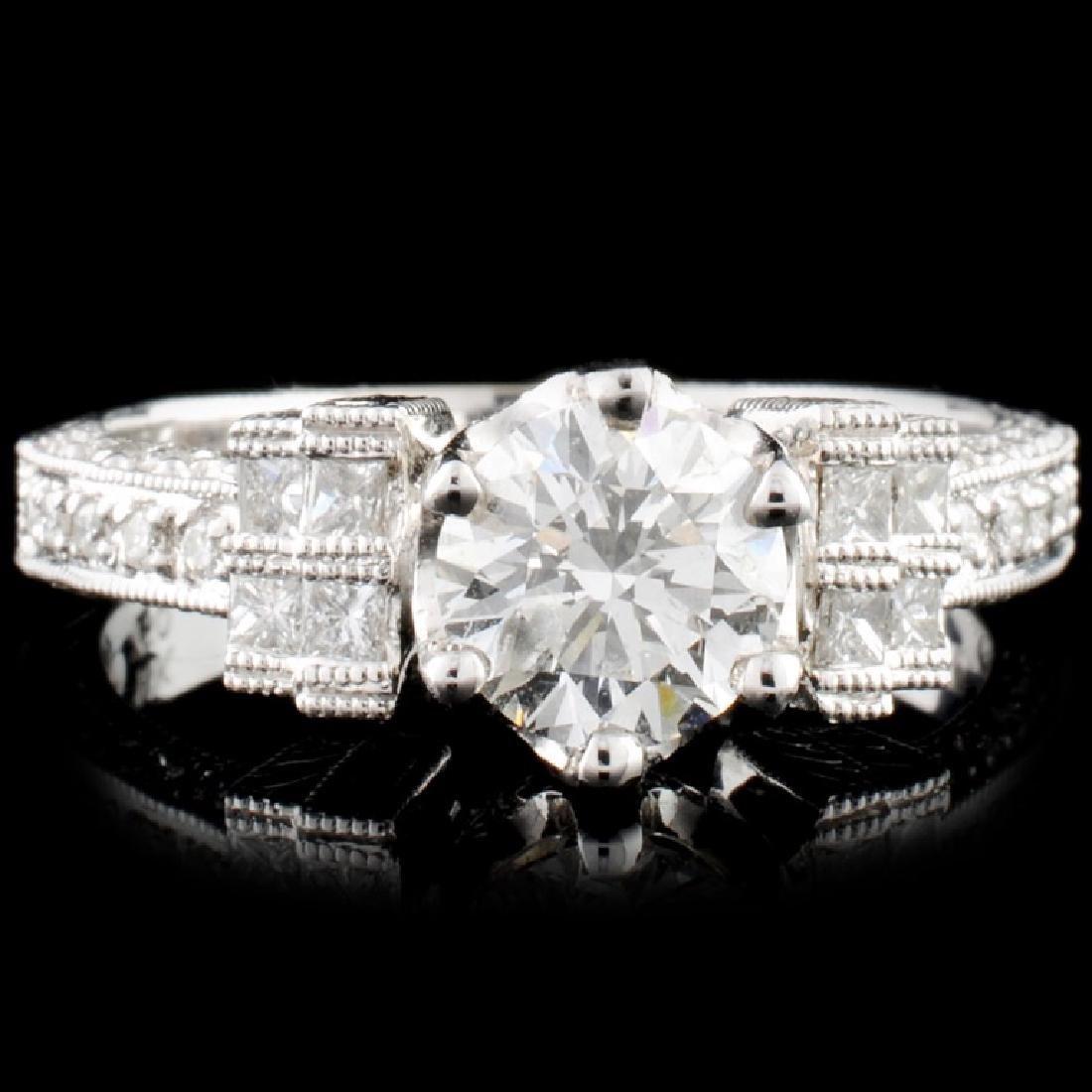 18K Gold 1.33ctw Diamond Ring