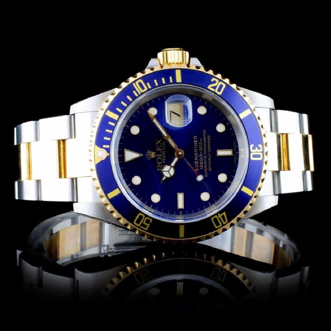 Rolex Submariner 18K & Stainless Steel Watch