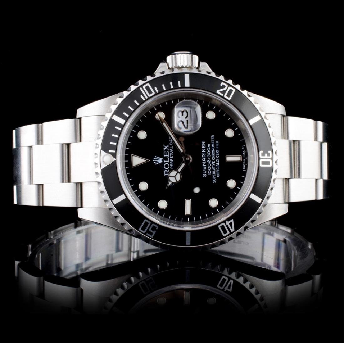 Rolex Submariner Stainless Steel Wristwatch