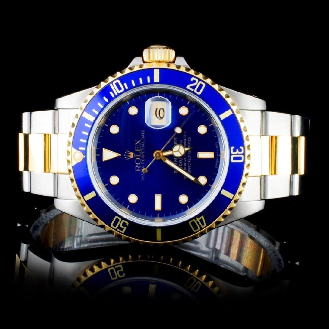 Rolex YG/SS Submariner 40MM Wristwatch