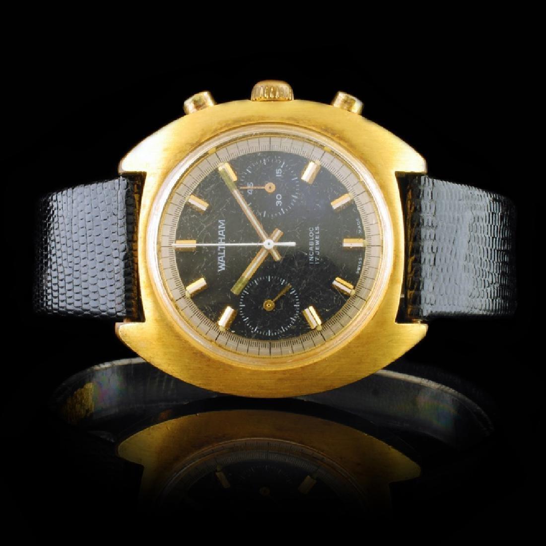 WALTHAM Swiss Chronograph 40mm Wristwatch