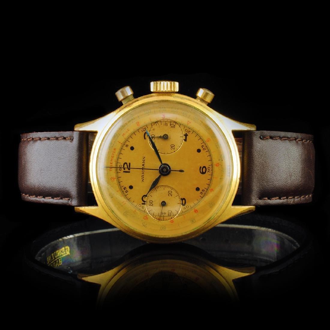 WAKMANN Swiss 36mm Chronograph Wristwatch