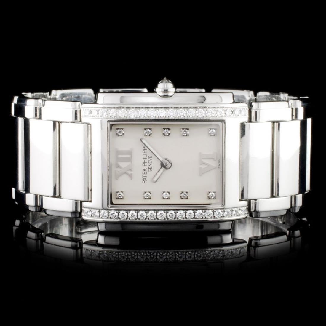 Patek Philippe SS Twenty–4 Diamond Ladies Watch