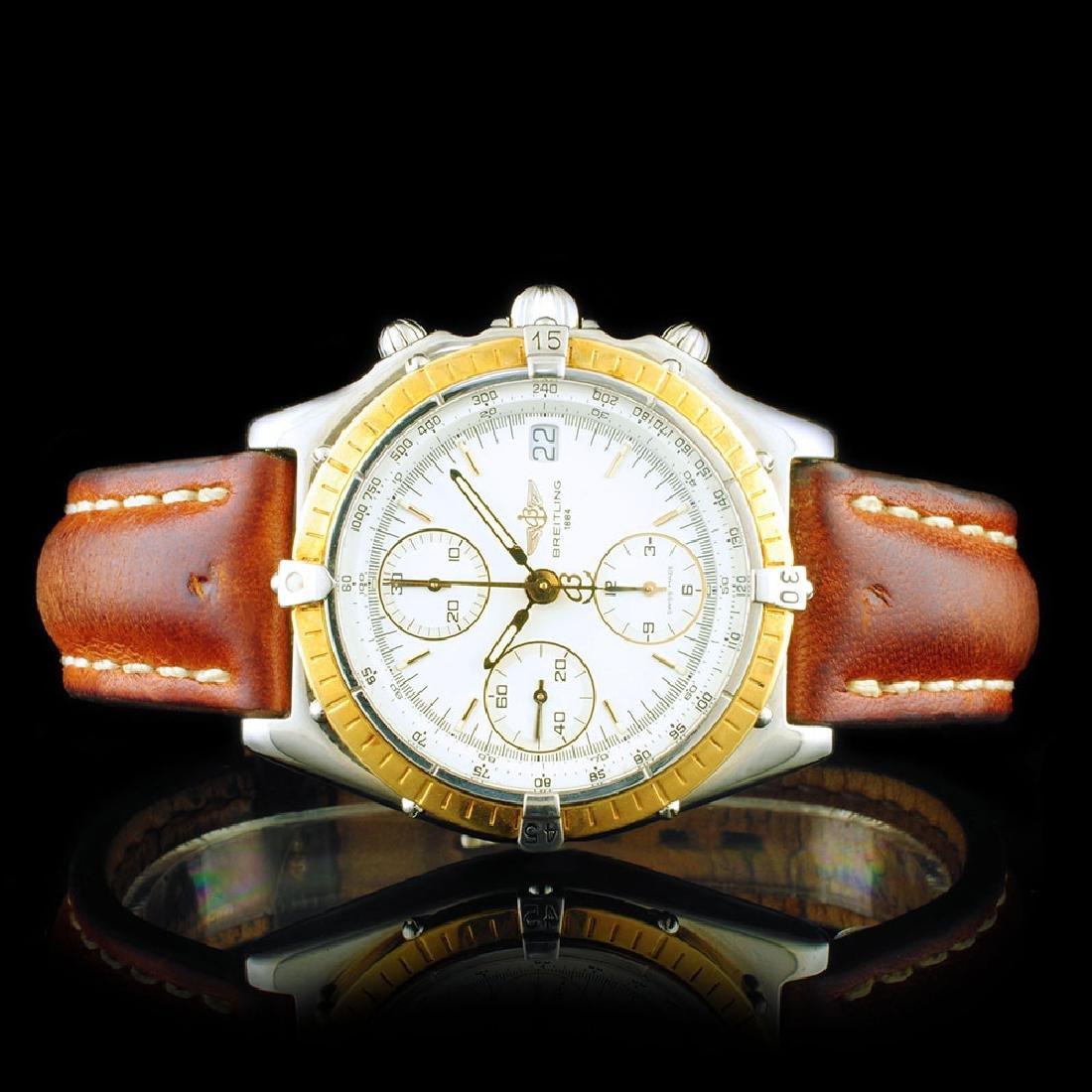 Breitling Chronomat Chrono Gold/SS 40mm Watch