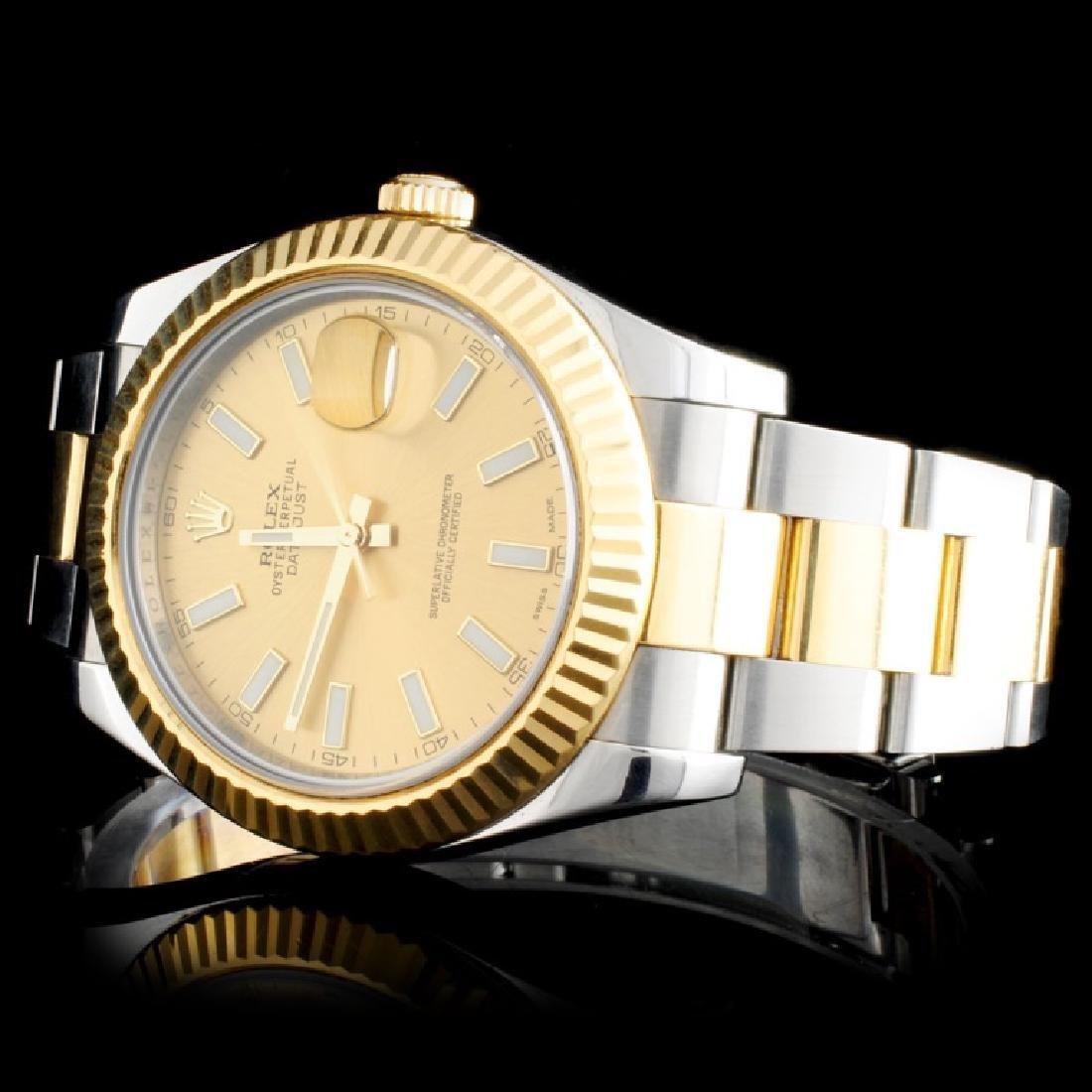 Rolex Two-Tone 41MM DateJust II Wristwatch - 2