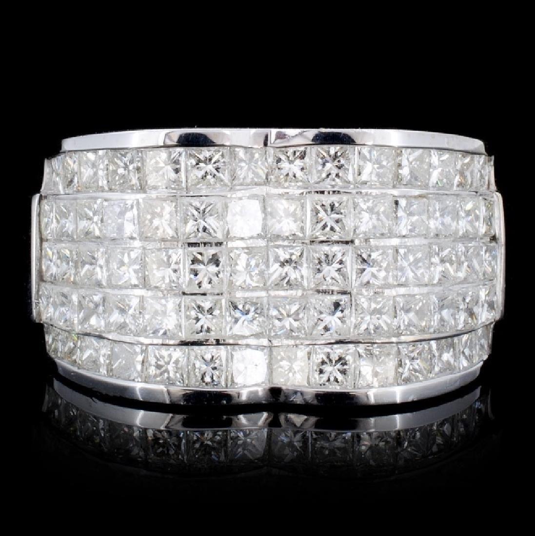 18K Gold 2.68ct Diamond Ring