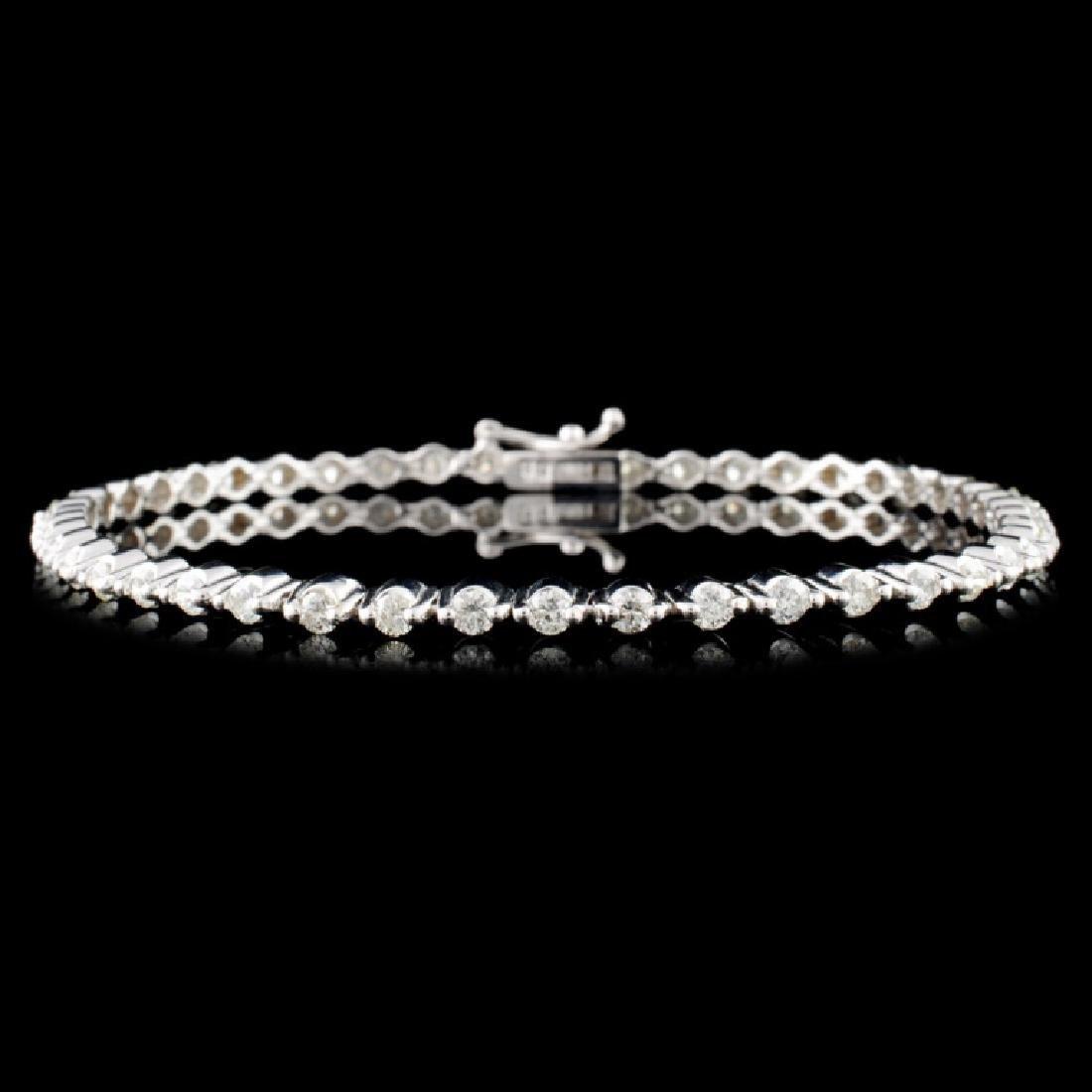 18K Gold 2.00ctw Diamond Bracelet